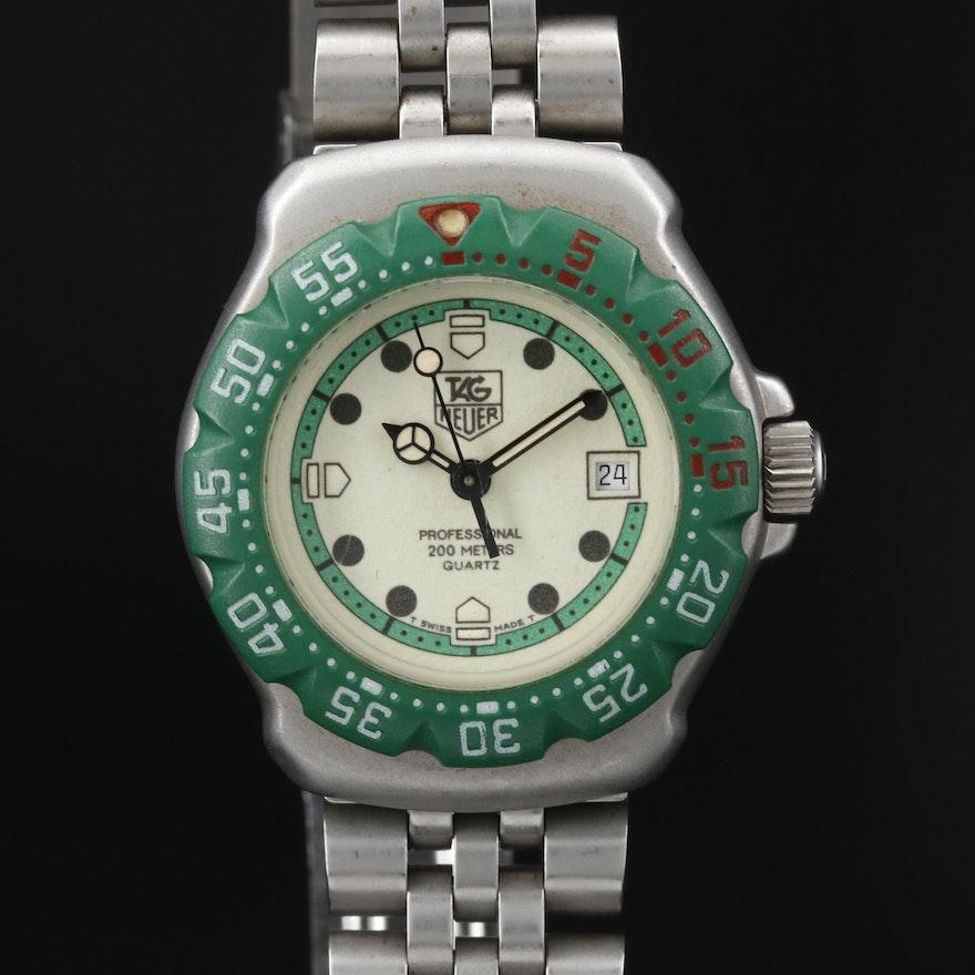 TAG Heuer Formula 1 Stainless Steel Quartz Wristwatch