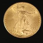 1925 Saint-Gaudens $20 Gold Double Eagle