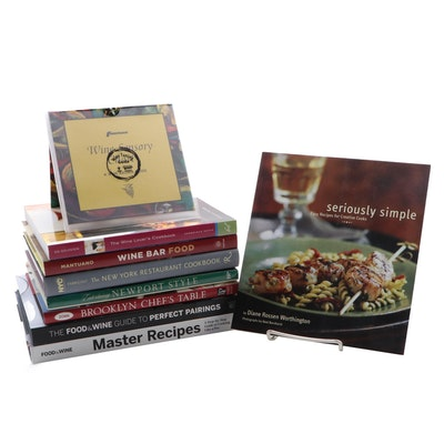 "Entertaining and Cookbooks Including ""Seriously Simple"" by Diane R. Worthington"