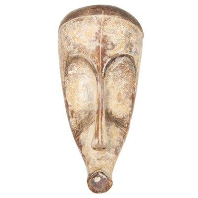 Fang Hand-Carved Wood Mask, Central Africa