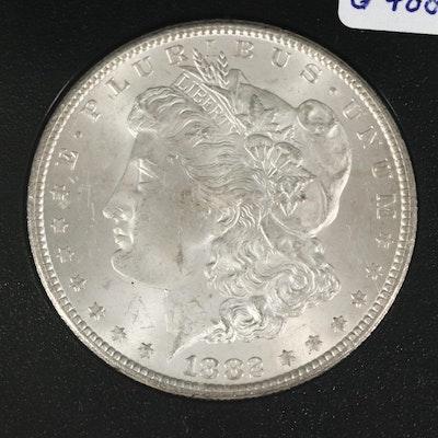 GSA 1882-CC Morgan Silver Dollar