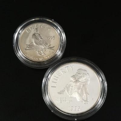 1995 Civil War Battlefield Commemorative Proof Coin Set