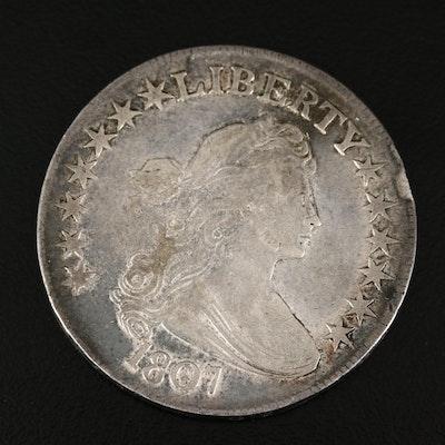 1807 Draped Bust Silver Half Dollar