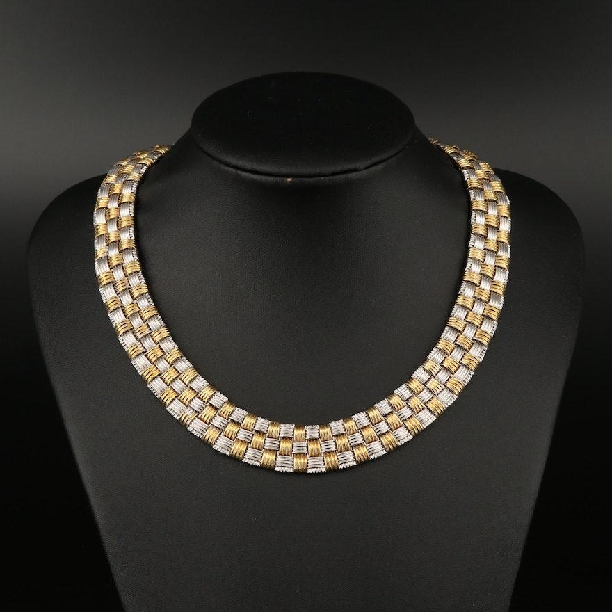 "Roberto Coin ""Appassionata"" 18K Diamond and Ruby Collar"