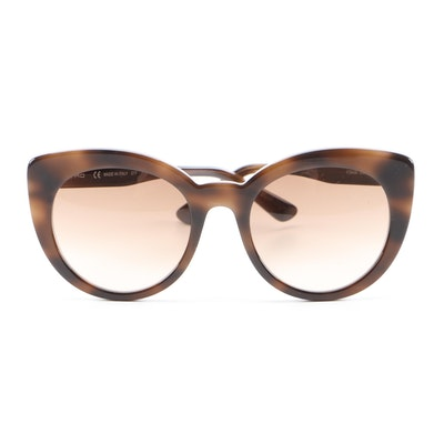 ETRO ET643S Dark Havana Cat Eye Sunglasses with Case