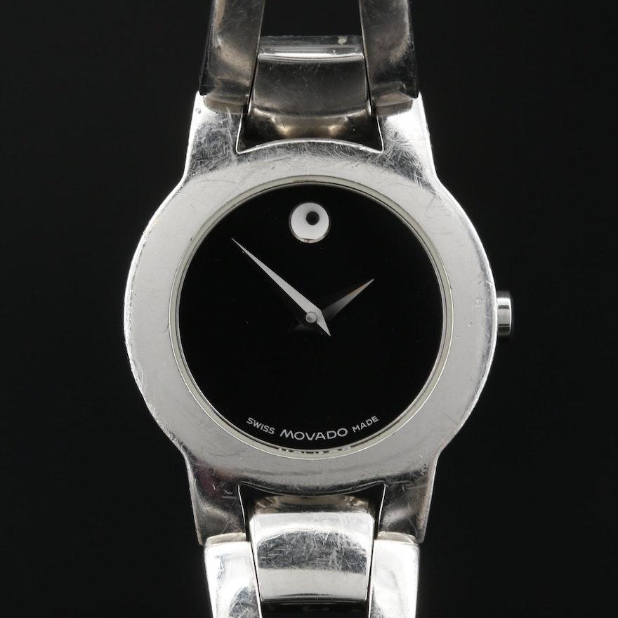 Movado Amorosa Stainless Steel Quartz Wristwatch
