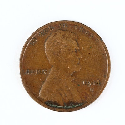 Key Date 1914-D Lincoln Wheat Cent