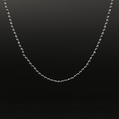 Pandora Sterling Beaded Chain