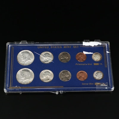 1964 Denver and Philadelphia Type Coin Uncirculated Set
