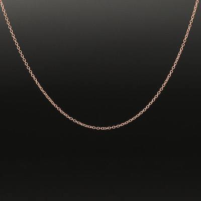 Le Vian 14K Rose Gold Cable Chain Necklace