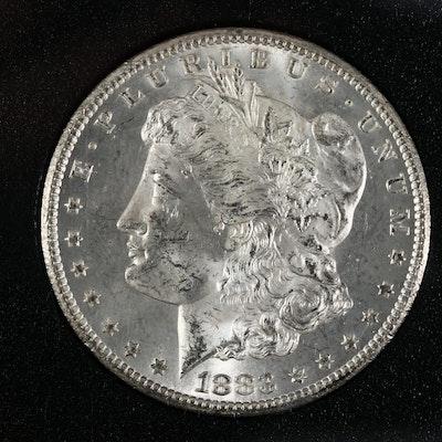 GSA 1883-CC Morgan Silver Dollar with Presentation Case