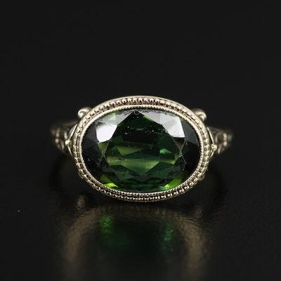 Vintage 14K 3.21 CT Tourmaline Ring