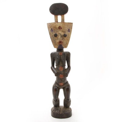 West African Wooden Figural Sculpture