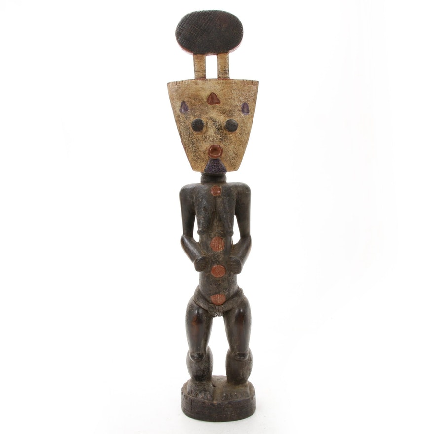 West African Wooden Figural Sculpture