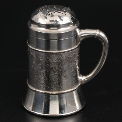 Rogers & Bros. Aesthetic Movement Silver Plate Sugar Caster, Late 19th Century