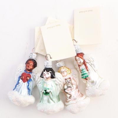"""Patricia Breen Designs """"Quartet of Angels"""" Ornaments"""