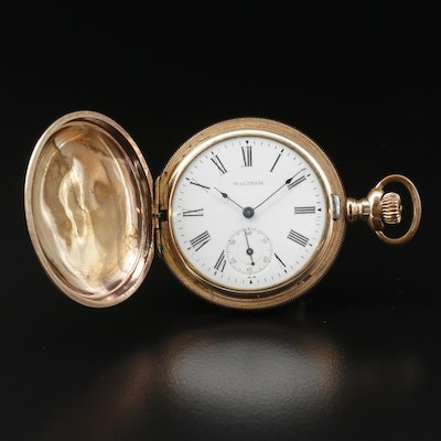 1902 Waltham Size 6 Gold Filled Pocket Watch
