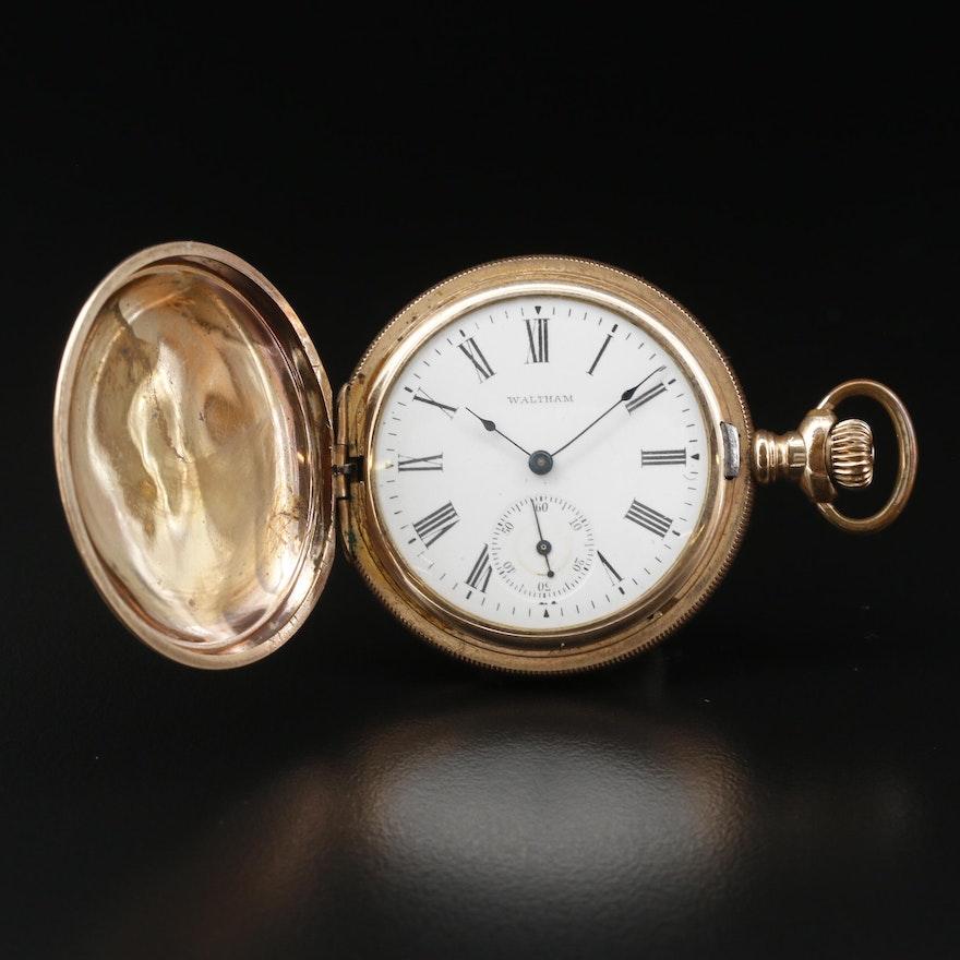1902 Waltham Size 6 Gold Filled Pocket Watch