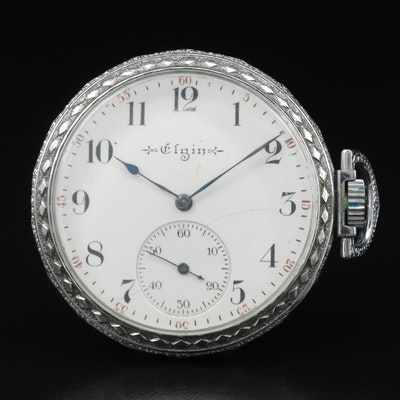 1903 Elgin Sidewinder Pocket Watch