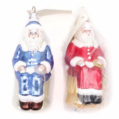 """Patricia Breen Designs """"Cyberspace Santa"""" Ornaments"""