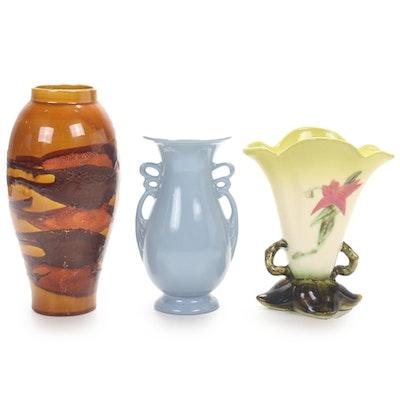 Abingdon, Haegar, and Hull Pottery Vases