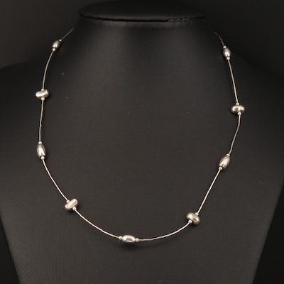 Silpada Sterling Silver Station Necklace