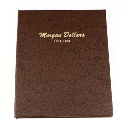 Later Morgan Silver Dollars Including Better Date Coins in Dansco Album