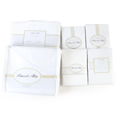 Peacock Alley King-Size 300TC Sateen Sheet and Duvet Set