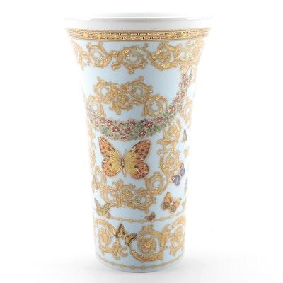 "Versace for Rosenthal ""Le Jardin de Versace"" Porcelain Vase"