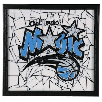 Orlando Magic Stained Glass Mosaic