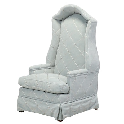 Custom-Upholstered Porter's Chair