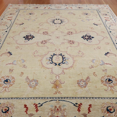 8'2 x 10'2 Hand-Knotted Safavieh Wool Area Rug