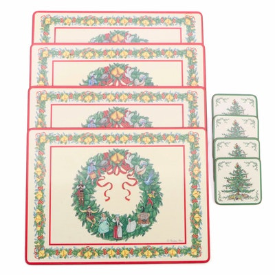 Pimpernel Christmas Placemats and Coasters