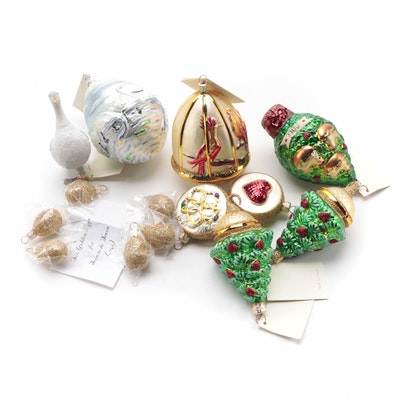 "Patricia Breen Designs ""Twelve Days of Christmas"" Ornaments"