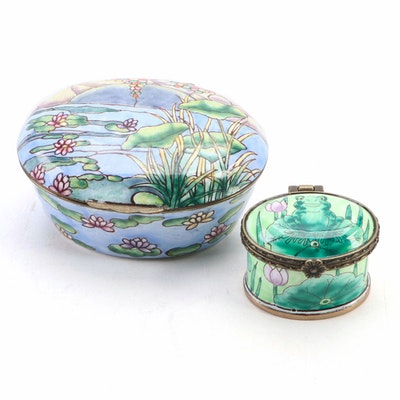 Kelvin Chen and Other Enamel Decorative Boxes