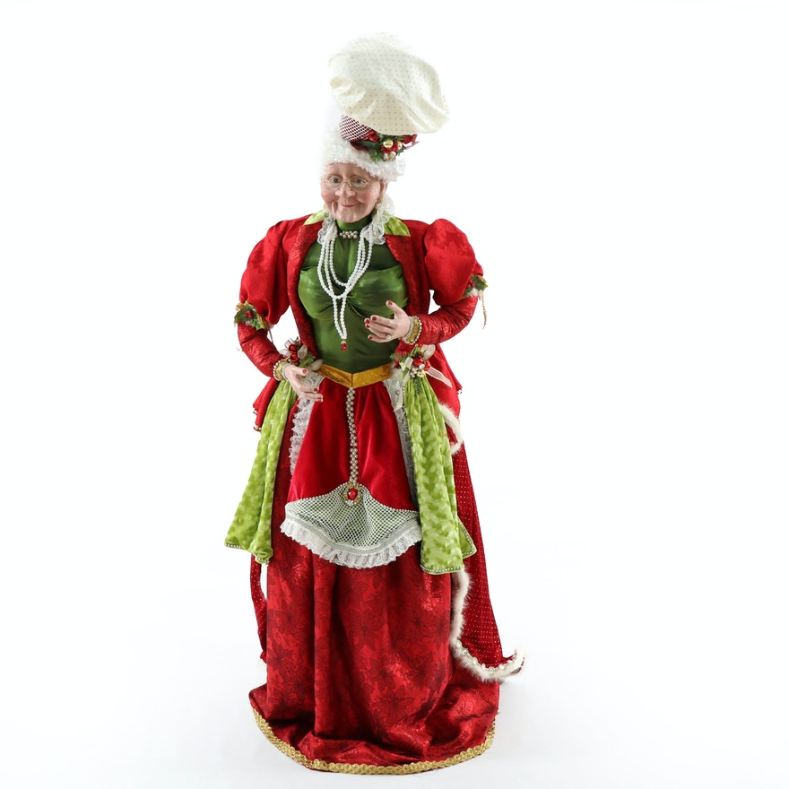 Mark Roberts for Frontgate Life-Size Mrs. Claus Figurine