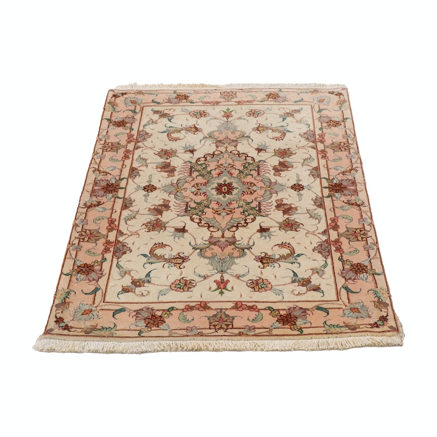 2'8 x 3'11 Hand-Knotted Peshawar Wool Rug