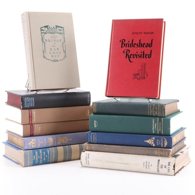 "Fiction and Nonfiction Books Including ""Brideshead Revisited"" by Evelyn Waugh"