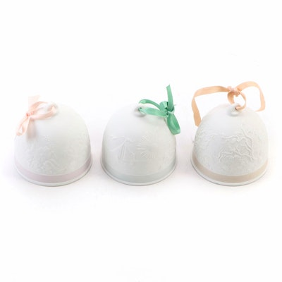 Lladró Collectors Society Porcelain Bells, 1991–1993
