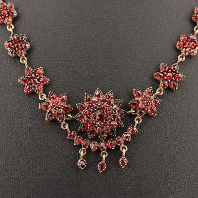 Vintage Tassel Pendant Necklace