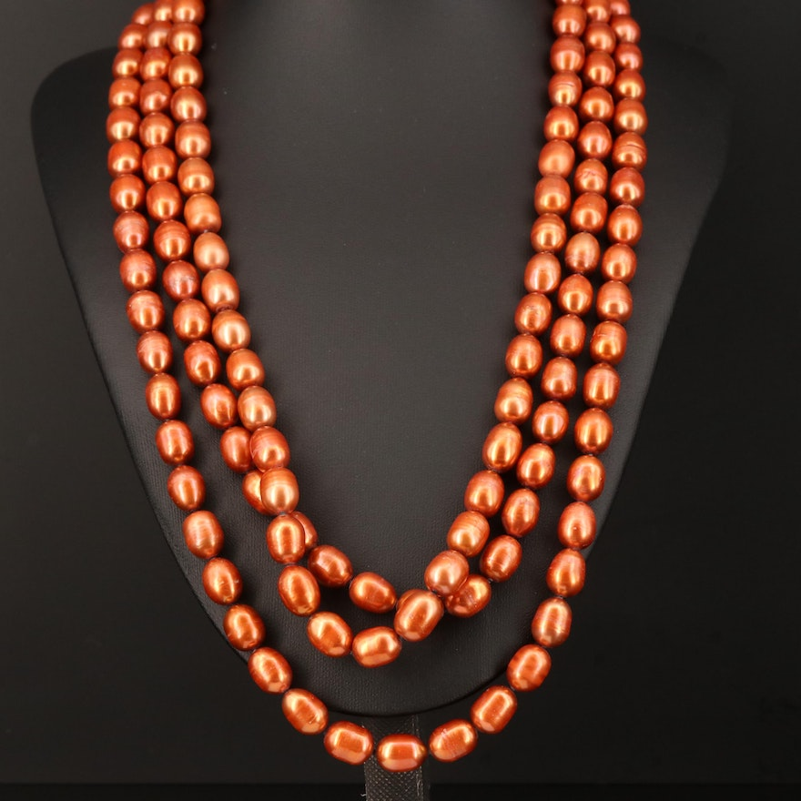 Pearl Multi-Strand Necklace