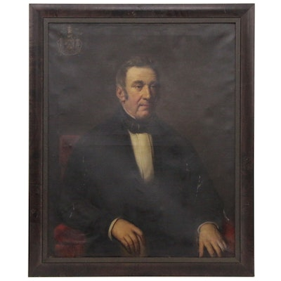 Oil Portrait of a Gentlemen, Late 19th Century
