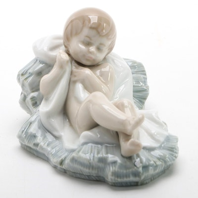 "Lladró ""Baby Jesus"" Porcelain Figurine, Late 20th Century"