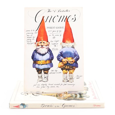"Illustrated ""Gnomes"" and ""Secrets of the Gnomes"" by Wil Huygen"