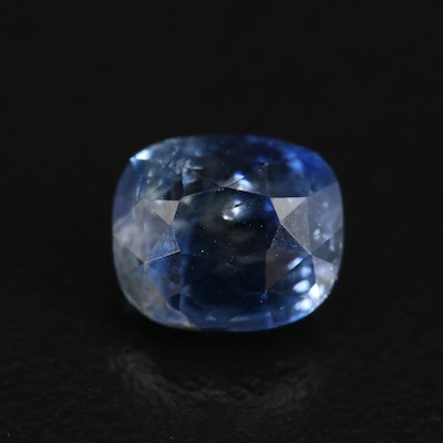 Loose 2.57 CT Unheated Sapphire with GIA Report