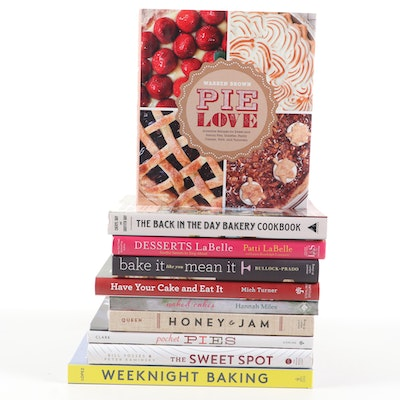 "Baking Cookbooks Including ""Pie Love,"" ""Honey and Jam,"" and More"