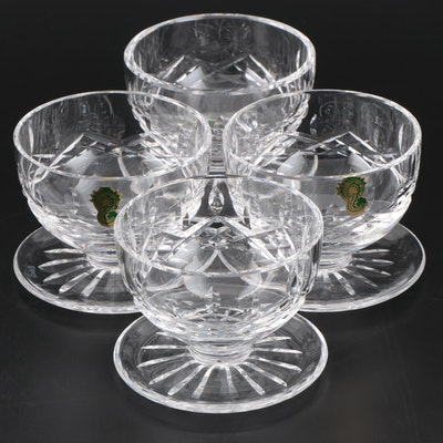 "Waterford ""Lismore"" Crystal Dessert Bowls"