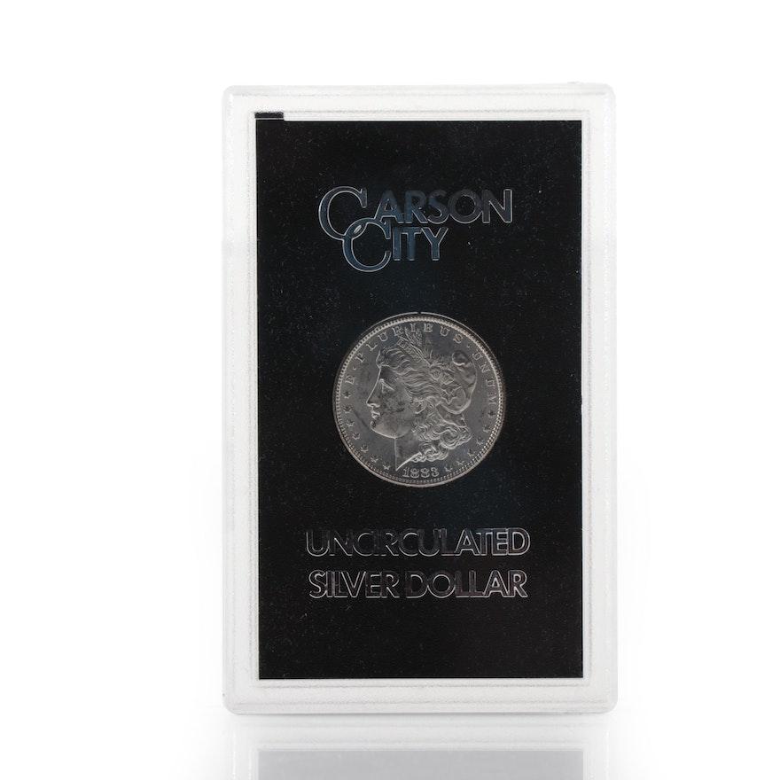 Better Date 1883-CC GSA Morgan Silver Dollar