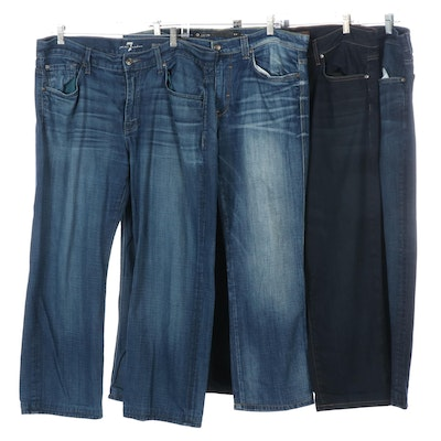 Men's 7 For All Mankind and Joe's Denim Jeans