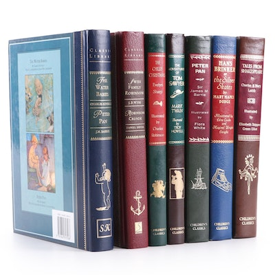 "Classic Fiction Including ""The Adventures of Tom Sawyer"" and ""Peter Pan"""